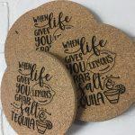 Bespoke-cork-beverage-coasters-print-your-logo-on-it
