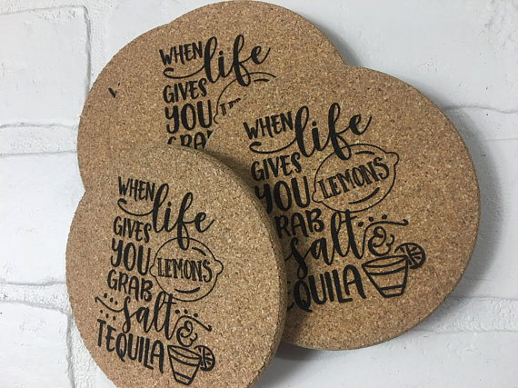 Bespoke-cork-beverage-coasters-print-your-logo-on-it