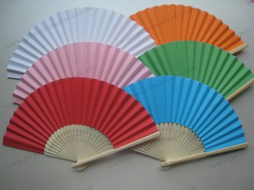 Mixed-colors-paper-fan