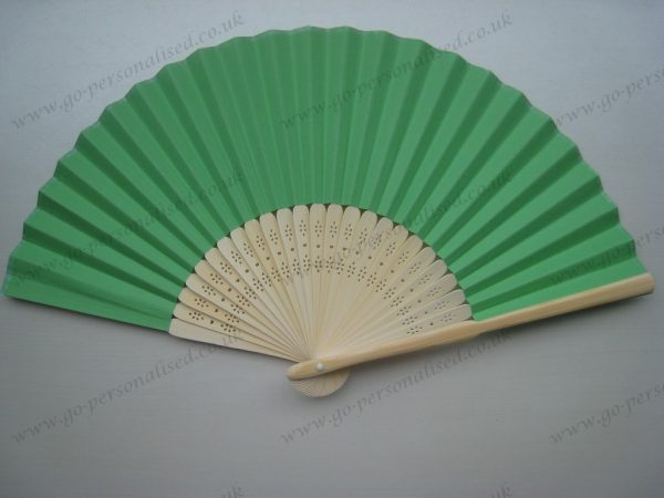 green-paper-fans-wedding-hand-fan