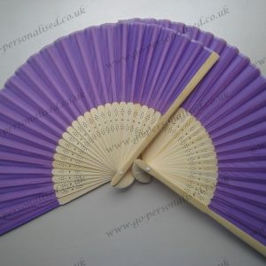 purple wedding silk fan wholesale best graduation gifts college party hen weekend favours