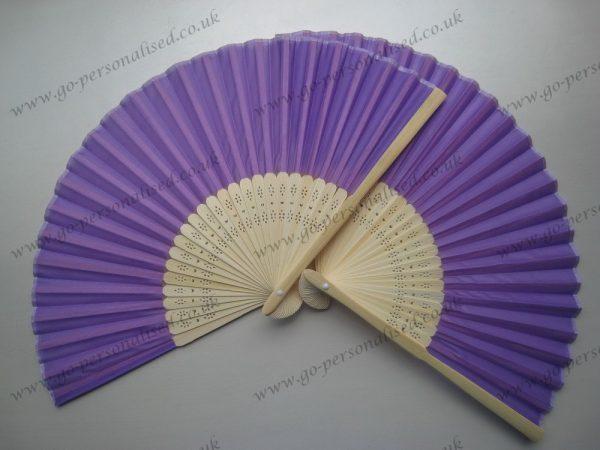lilac-purple-silk-fan-for-wedding