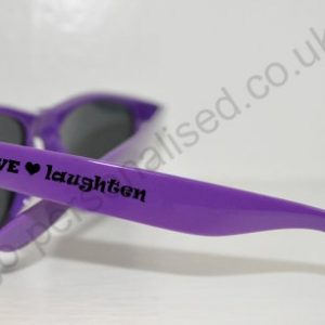 custom design promotional sunglasses with logo printing baby shower gifts