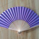 purple-wedding-favors-paper-fan