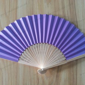 purple wedding party decoration fan reunion new year party company party gifts