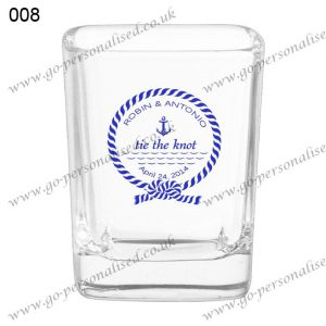 wedding gifts personalised shot glasses bridal gifts wedding favours ideas