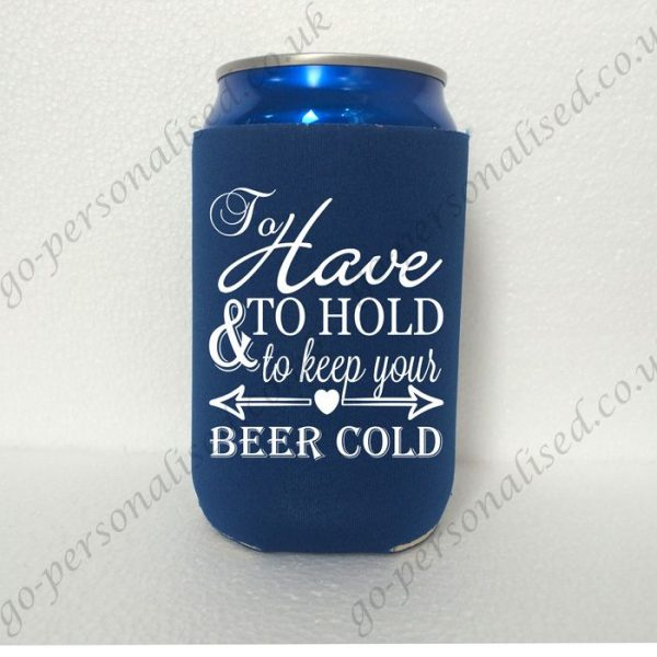wholesale neoprene can holder customized koozie double sides printing