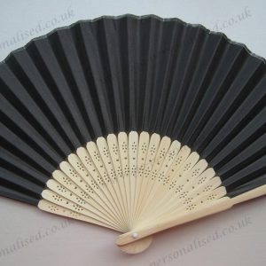 Black paper fans gifts reunion party concert theater barbecue outdoor gifts