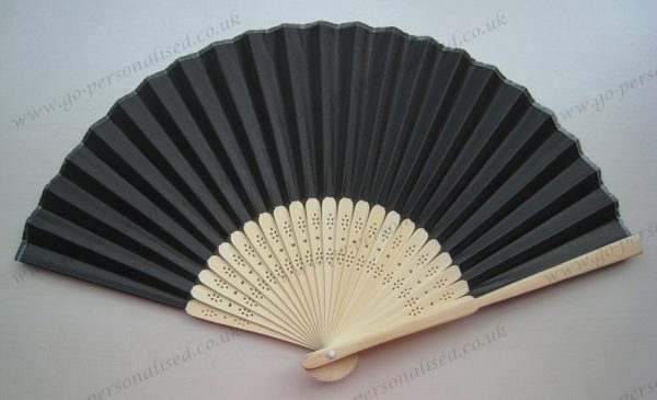 Black-paper-fans-cheap-gifts-reunion-party-concert-theater-barbecue-outdoor-gifts