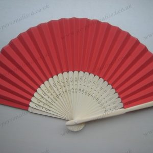 Red-Color-Bamboo-Fan-Folding-Hand-fan-Save-The-Date-bridal-bachelorette-favors