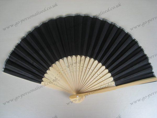 black-wedding-silk-fan-wedding-gift