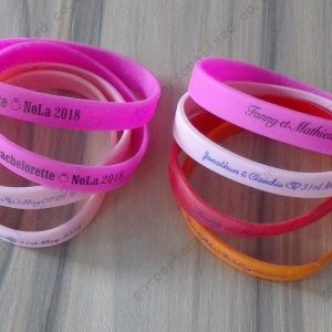 custom rubber wristbands wholesale uk with your printed message sports concert gifts decorations