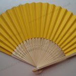 deep-yellow-paper-fan-hot-sales-save-the-date-wedding-invitation-gifts