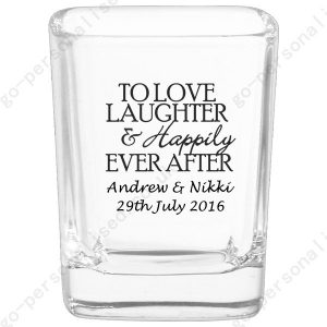 personalised shot glasses wedding gifts