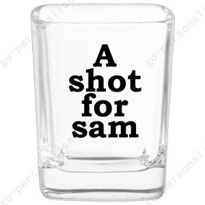 personalized shot glass drink bar gifts affordable favors