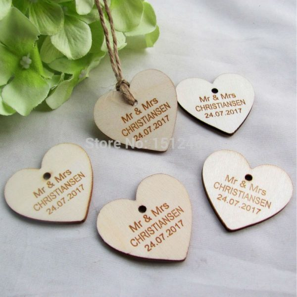 100-pcs-Personalized-custom-Engraved-wedding-name-and-date-Love-Heart-wooden-Wedding-Gift-Tags-Jute-2