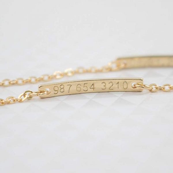 4-Chain-Baby-Name-Bar-ID-Bracelet-Gold-Hand-Chain-Stainless-Steel-Custom-Engraved-Nameplate-Personalized-3