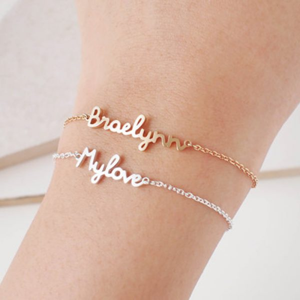 Personalized-Custom-Name-Bracelet-Charms-Handmade-Women-Kids-Jewelry-Engraved-Handwriting-Signature-Love-Message-Customized-Gift