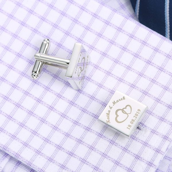 Personalized-Mens-Shirt-Cufflinks-Sliver-Square-Customized-Cufflink-Wedding-Gifts-for-Groom-Laser-Engraved-LOGO-Gemelos-3