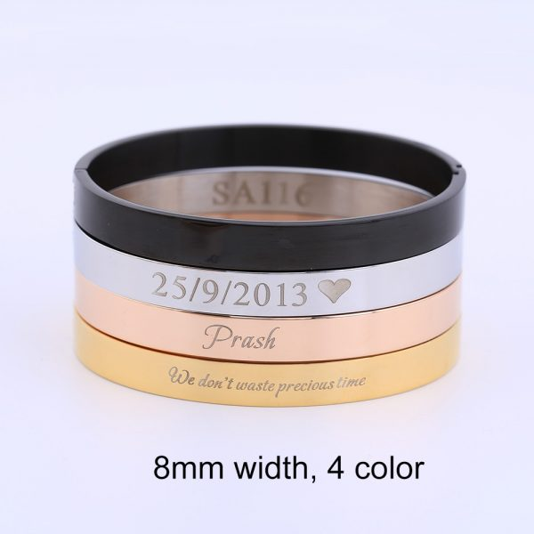 Personalized-Womens-Jewelry-Rose-Gold-Bracelet-for-Women-Female-Custom-Engraved-Name-Bracelets-Bangles-Stainless-Steel-3