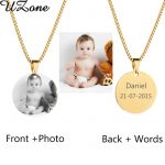 UZone-Custom-Engraved-Blank-Necklace-Personalized-Photo-Name-Necklace-Can-Drop-Shipping