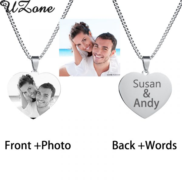 UZone-Custom-Engraved-Blank-Necklace-Personalized-Photo-Name-Necklace-Can-Drop-Shipping-2