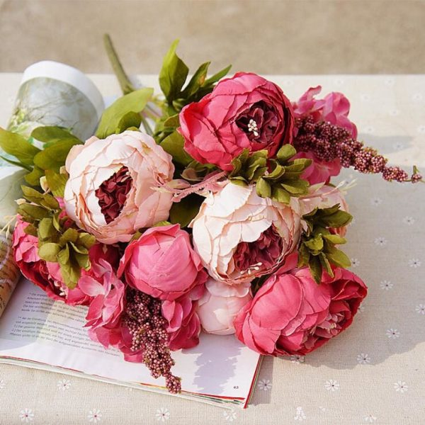 1Bunch-European-Artificial-Peony-Decorative-Party-Silk-fake-Flowers-Peonies-For-Home-Hotel-decor-DIY-Wedding-2