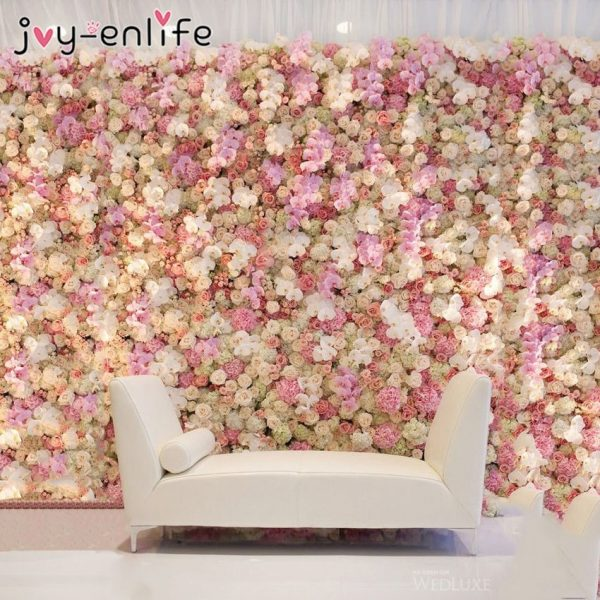 40x60cm-Silk-Rose-Flower-Champagne-Artificial-Flower-for-Wedding-Decoration-Flower-Wall-Romantic-Wedding-Backdrop-Decoration-2