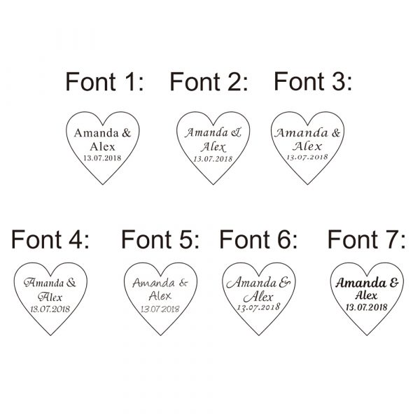 50pcs-Personalized-Engraved-Name-Card-Mirror-Clear-MR-MRS-Surname-Love-Heart-Wedding-Table-Decoration-Favors-2