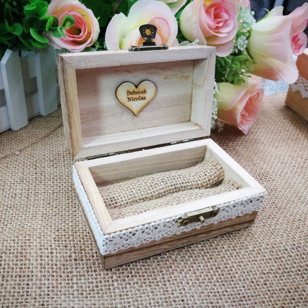 Customized-Your-Names-and-Date-Engrave-Wood-Wedding-Ring-Box-with-love-heart-Personalized-Gift-Rustic-2