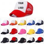 Factory-Price-Free-Custom-LOGO-Design-Cheap-100-Polyester-Men-Women-Baseball-Cap-Blank-Mesh-Adjustable