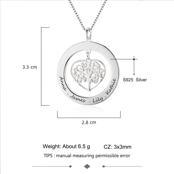 Family-Gift-Jewelry-Tree-Of-Life-Personalized-Engrave-Name-Necklace-925-Sterling-Silver-Necklaces-Pendants-JewelOra-2
