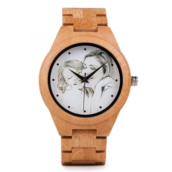 Personality-Creative-Design-Customers-Photos-UV-Printing-Customize-Wooden-Watch-Customization-Laser-Print-OEM-Great-Gift-1