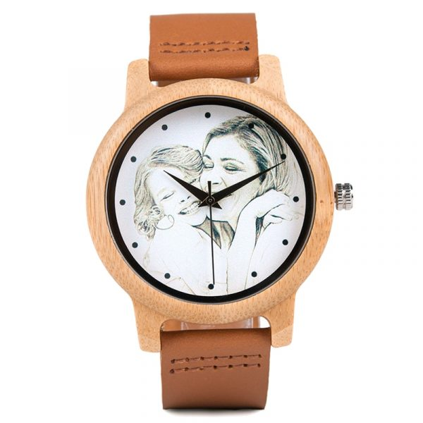 Personality-Creative-Design-Customers-Photos-UV-Printing-Customize-Wooden-Watch-Customization-Laser-Print-OEM-Great-Gift-3