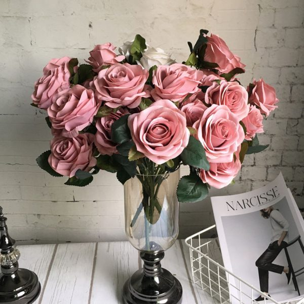 10-Heads-big-Artificial-rose-flower-bouquet-flores-artificiales-wedding-home-fall-decorations-fake-flowers-fleur-2