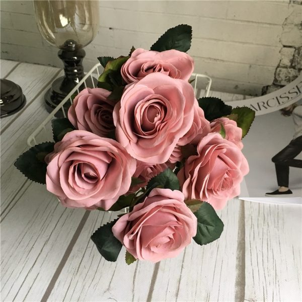 10-Heads-big-Artificial-rose-flower-bouquet-flores-artificiales-wedding-home-fall-decorations-fake-flowers-fleur-3