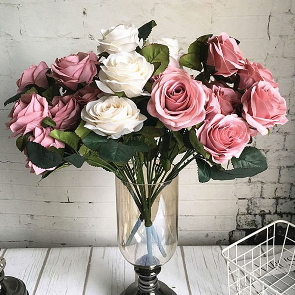 10-Heads-big-Artificial-rose-flower-bouquet-flores-artificiales-wedding-home-fall-decorations-fake-flowers-fleur