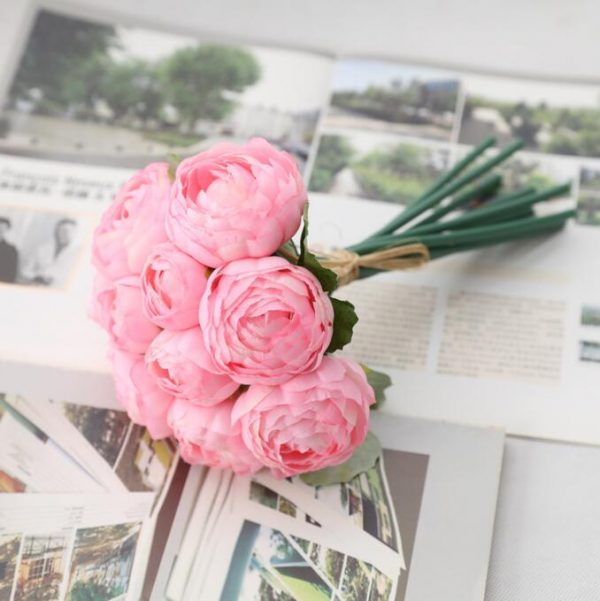 10Pcs-bunch-rose-peony-Artificial-hand-flowers-bridal-hand-flores-for-home-table-Wedding-decoration-Christmas-2