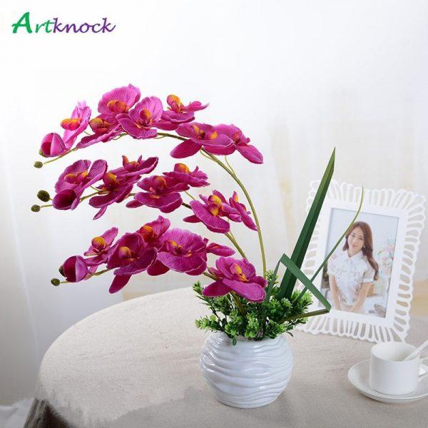 10Pcs-lot-Lifelike-Artificial-Butterfly-Orchid-flower-Silk-Phalaenopsis-Wedding-Home-DIY-Decoration-Fake-Flowers-free-2