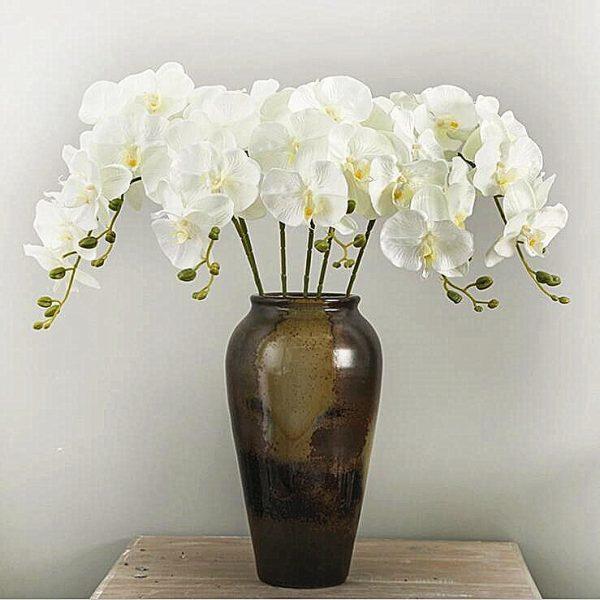 10Pcs-lot-Lifelike-Artificial-Butterfly-Orchid-flower-Silk-Phalaenopsis-Wedding-Home-DIY-Decoration-Fake-Flowers-free