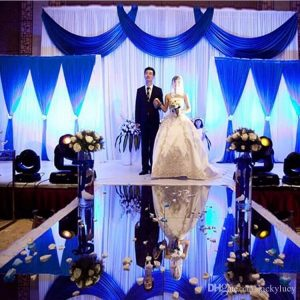 Shiny Silver Mirror Carpet Aisle Runner 10m Per lot 1.2m Wide For Romantic Wedding Favors Party ceremony