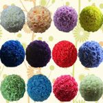 16-40CM-Big-Size-Kissing-Balls-Artificial-Encryption-Rose-Silk-Flower-Ball-Ornament-for-Wedding-Festival