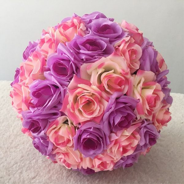16-40CM-Big-Size-Kissing-Balls-Artificial-Encryption-Rose-Silk-Flower-Ball-Ornament-for-Wedding-Festival-5