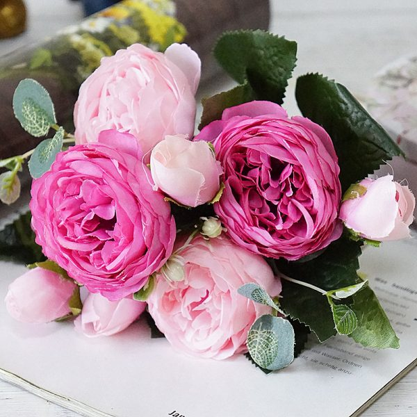 2019-Beautiful-Rose-Peony-Artificial-Silk-Flowers-small-bouquet-flores-home-party-spring-wedding-decoration-mariage-3
