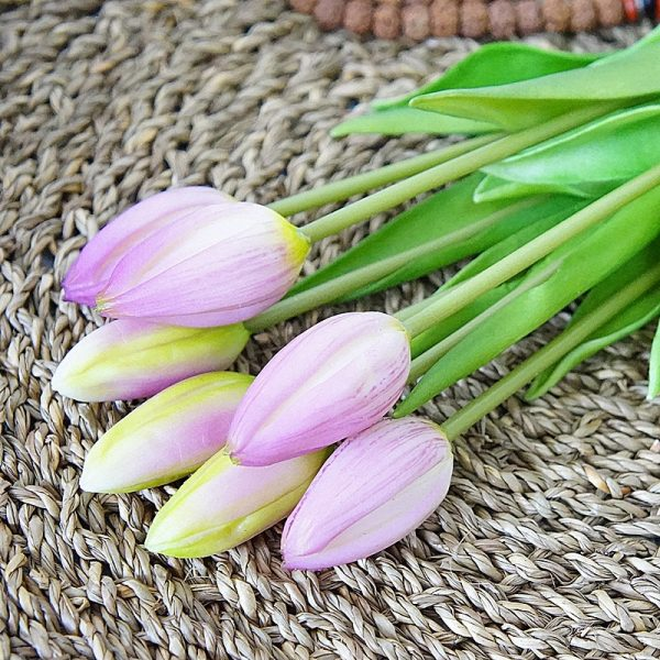 7Pcs-bunch-Real-touch-soft-silicone-Artificial-tulips-Flower-for-home-wedding-decoration-Fake-bridal-hand-3