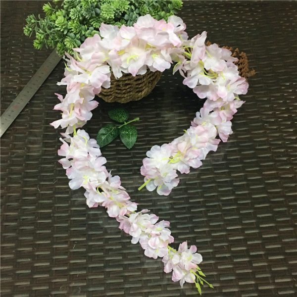88cm-Cherry-blossom-Vine-Sakura-Artificial-flowers-for-party-Wedding-ceiling-decoration-wall-Hanging-rattan-fleur-2