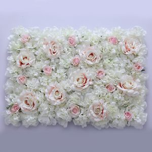 popular Wedding Flower Wall  Backdrop Centerpieces Flower Panel Rose Hydrangea Party Decorations Supplies 24pcs/lot  birthday gift ideas for women girls