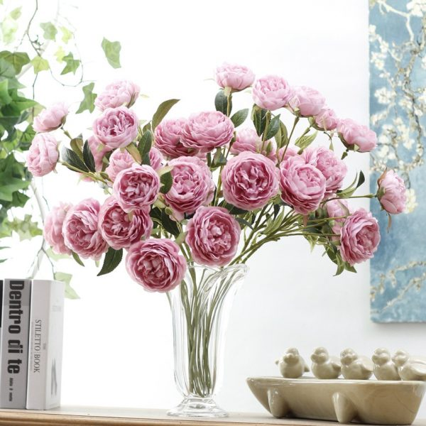 New-3Heads-Artificial-Peony-Flower-silk-flores-fleur-artificielle-for-wedding-decor-peonies-spring-Home-decoration-2