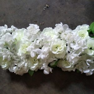 Wedding Arch Flower Row Artificial Rose Hydrangea Styles cheap wedding gate birthday gift ideas for women girls