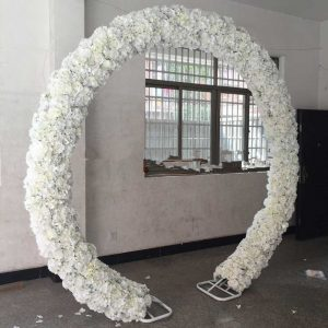 New-Arrival-Wedding-Arch-Flower-Row-Artificial-Rose-Hydrangea-Styles-Backdrop-Centerpieces-Road-Cited-Flowers-Rows